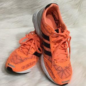 Orange adidas Size 8 1/2